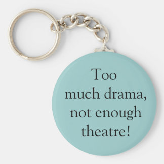 Drama and theatre key chain
