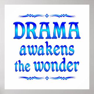 Drama Awakens Print