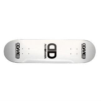 Drama Boards skate board grey-black logo