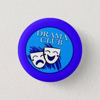 Drama Club Badge Button
