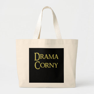 Drama corny bag, for sale ! large tote bag