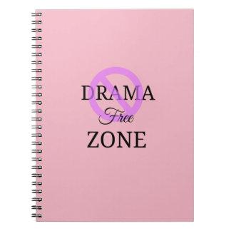 Drama Free Zone Notebook