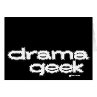 Drama Geek Greeting Card