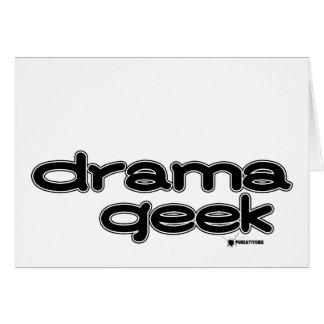 Drama Geek Note Card