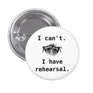 drama, I can't, I have rehearsal -... - Customized Pins