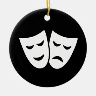 Drama Ideology Christmas Ornament