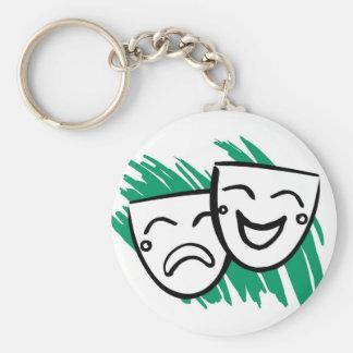 Drama Key Ring