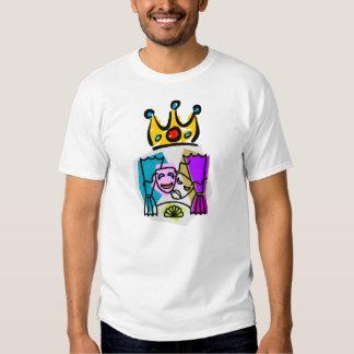 Drama King w/DRAMA KING on back Tee Shirt