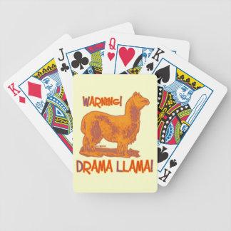 Drama Llama Bicycle Playing Cards