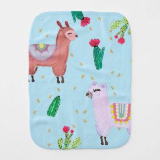 Drama Llama Burp Cloth