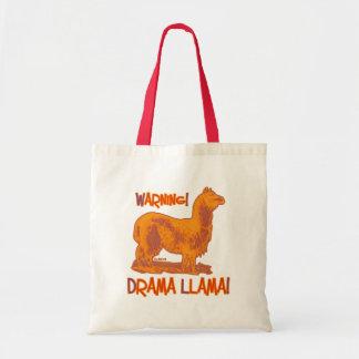 Drama Llama Canvas Bags