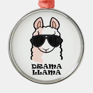 Drama Llama Christmas Ornament