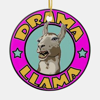 Drama Llama, Christmas Ornament