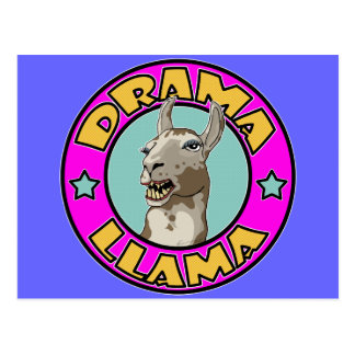 Drama Llama, Postcard