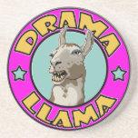 Drama Llama, Sandstone Coaster
