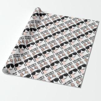 Drama Llama Wrapping Paper