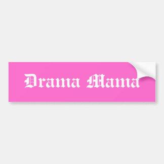 Drama Mama Bumper Sticker