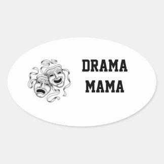 Drama Mama Sticker