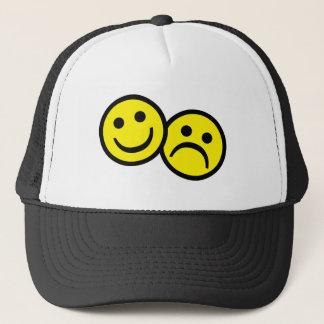 Drama Mask Smiley's Trucker Hat