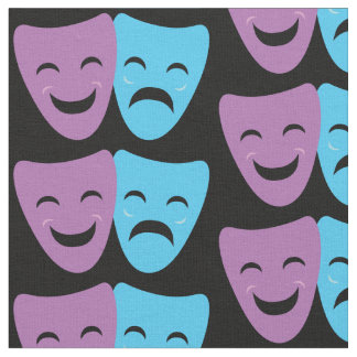 Drama Masks Fabric