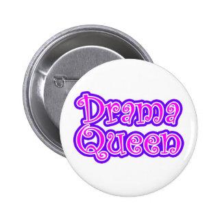 Drama Queen 6 Cm Round Badge