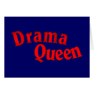 drama queen cards