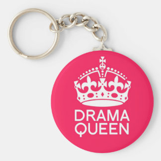 Drama Queen Key Ring