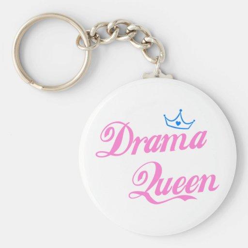 Drama Queen Keychains