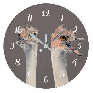 """""""Drama Queen"""" Large Clock"""