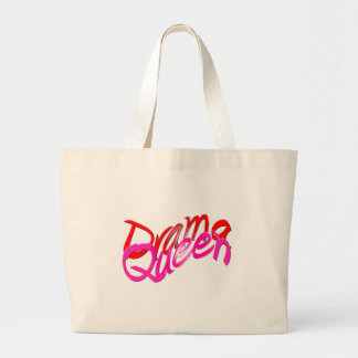 Drama Queen Large Tote Bag