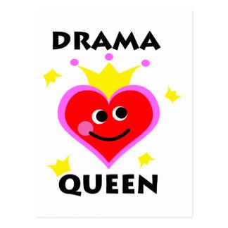 drama queen. postcard