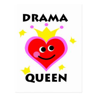 drama queen postcards