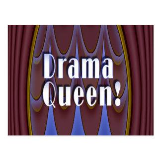 Drama Queen! Postcard