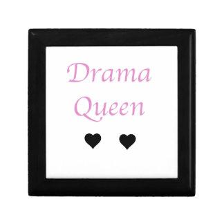 Drama Queen Small Square Gift Box