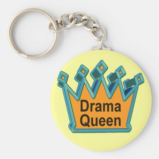 Drama Queen T-shirts and Gifts For Her Key Chains