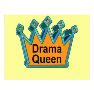 Drama Queen T-shirts and Gifts For Her Postcard