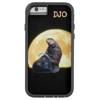 Drama Seal and Full Moon Rise Tough Xtreme iPhone 6 Case