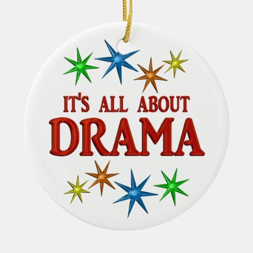 Drama Stars Christmas Ornaments