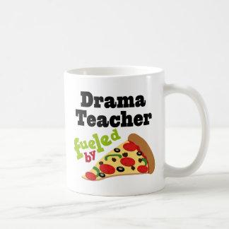 Drama Teacher (Funny) Pizza Basic White Mug