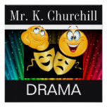 Drama Teacher Poster - SRF