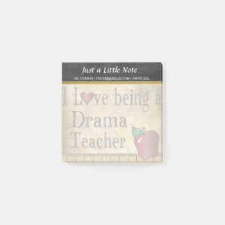 Drama Teacher | Vintage Style Post-it Notes