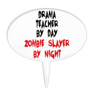 Drama Teacher Zombie Slayer Cake Picks