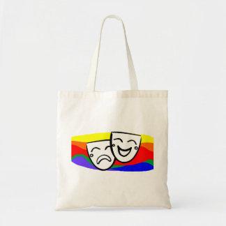 Drama: the Rainbow Swirls Tote Bag
