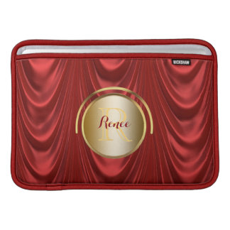 Drama Theatre Stage Curtains   Theater Monogram MacBook Air Sleeve