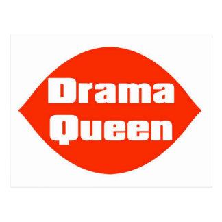 DramaQueen2 Postcard