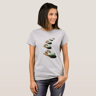 DRAMATIC AXOLOTL womens T-Shirt