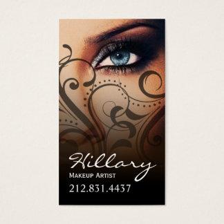 Dramatic Blue Eyes Makeup Artist | black