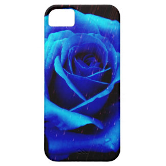 Dramatic Blue Rose Case For The iPhone 5