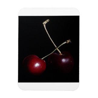 Dramatic Cherries Fridge Magnet