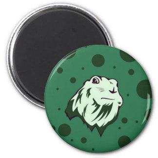 Dramatic Chipmunk 6 Cm Round Magnet